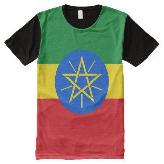 Ethiopia Flag All-Over Print T-Shirt