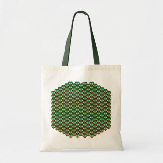 Ethiopia Flag Hearts Bag
