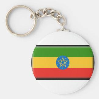 Ethiopia Flag Key Ring