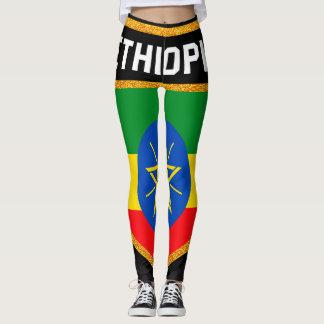 Ethiopia Flag Leggings