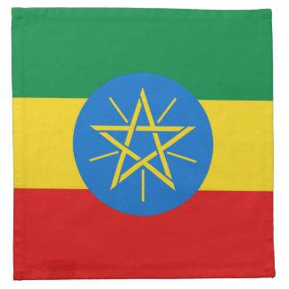 Ethiopia Flag Napkin