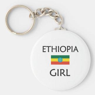 ETHIOPIA GIRL KEY RING