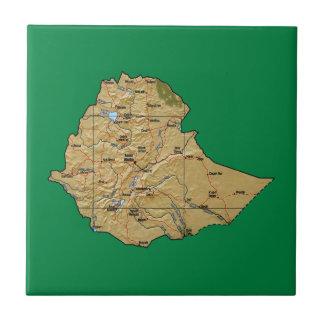 Ethiopia Map Tile