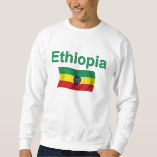 Ethiopia National Flag (w/inscription) Sweatshirt