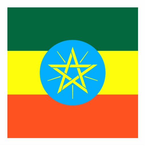 Ethiopia Cut Out