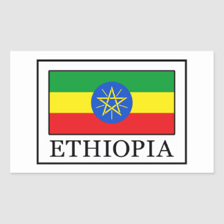 Ethiopia Rectangular Sticker