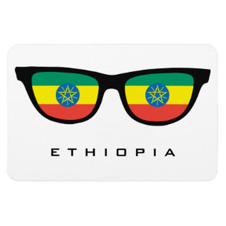Ethiopia Shades custom text & color magnet