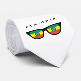 Ethiopia Shades custom text & color tie