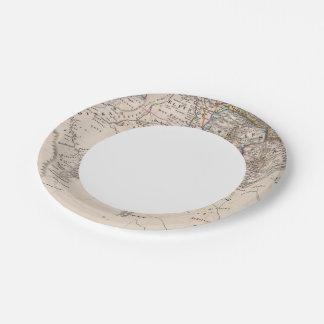 Ethiopia, Somalia, Africa 7 Inch Paper Plate