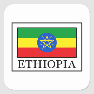 Ethiopia Square Sticker