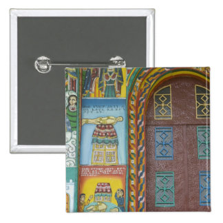 Ethiopia:  Tigray Region, Axum, Christ Church, 15 Cm Square Badge