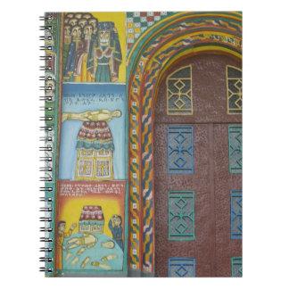 Ethiopia:  Tigray Region, Axum, Christ Church, Notebook