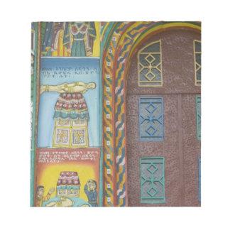 Ethiopia:  Tigray Region, Axum, Christ Church, Notepad