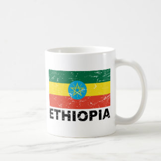 Ethiopia Vintage Flag Coffee Mug