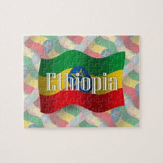 Ethiopia Waving Flag Puzzles