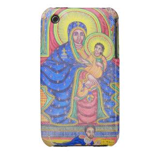 Ethiopian Black Madonna Jesus iPhone 4 Case