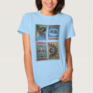 Ethiopian Church Painting - Baby Blue T-Shirt