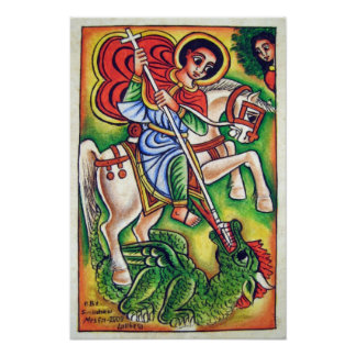 Ethiopian Church Painting - Kidus Gabriel Canvas Poster