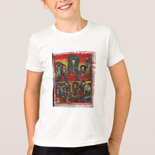 Ethiopian Church Painting - T-Shirt For Children