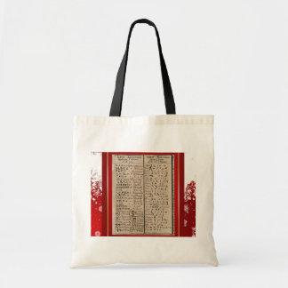 Ethiopian-Coptic Alphabet Tote Bag