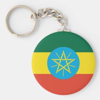 Ethiopian Flag Key Ring
