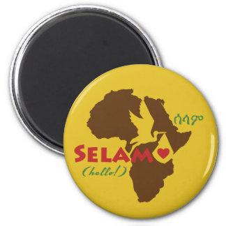 Ethiopian Hello Magnet