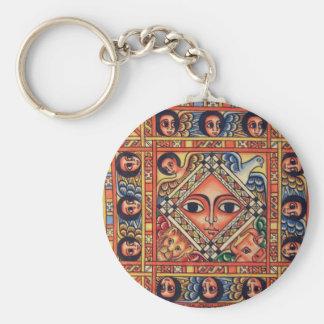 Ethiopian  icon key ring