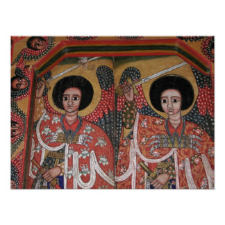 Ethiopian Orthodox Church Icon Poster