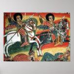 Ethiopian Orthodox Tewahedo Church Painting Poster