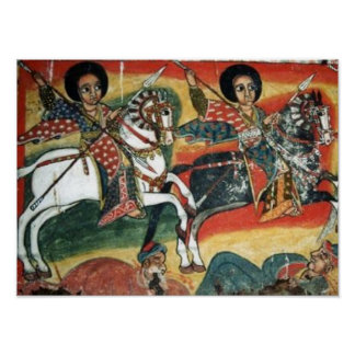 Ethiopian Orthodox Tewahedo Church Painting Poster