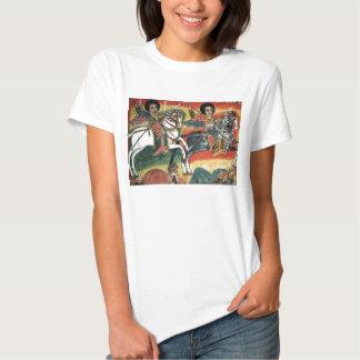 Ethiopian Orthodox Tewahedo Church Painting - T's Tee Shirt