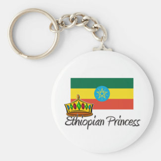 Ethiopian Princess Key Ring