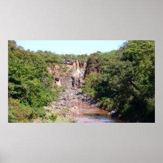 Ethiopian Waterfalls Print