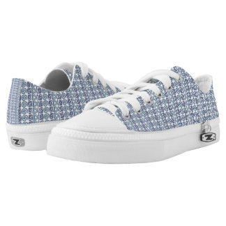 ethnic african hand-drawn pattern low tops