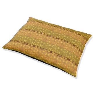 ethnic african pattern with Adinkra simbols Pet Bed