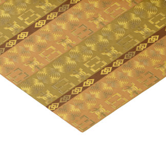 ethnic african pattern with Adinkra simbols Tissue Paper