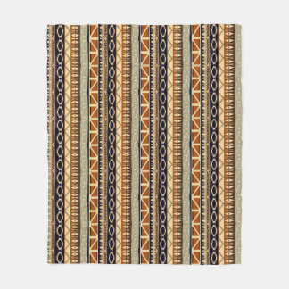 ethnic african seamless pattern fleece blanket