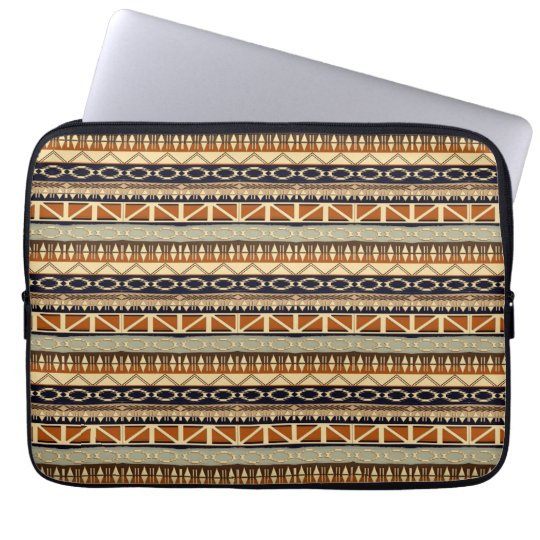 ethnic african seamless pattern laptop sleeve