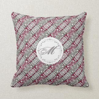 ethnic african seamless pattern.monogram. cushion