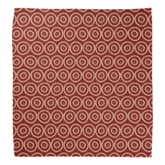 ethnic african tribal hand-drawn pattern. bandanna