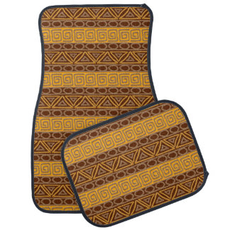 ethnic african tribal pattern car mat