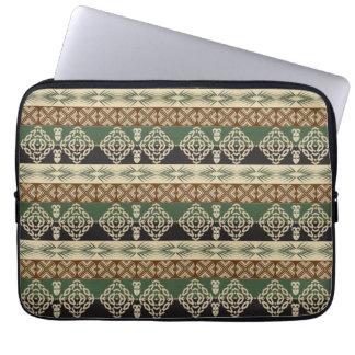 ethnic african tribal pattern laptop sleeve