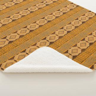 ethnic african tribal pattern sherpa blanket