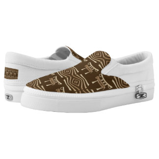ethnic african tribal pattern Slip-On shoes