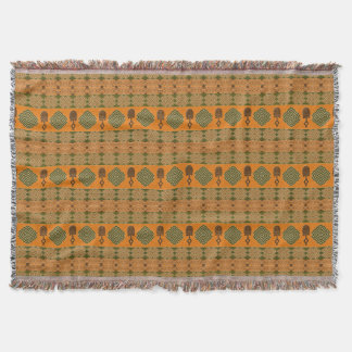 ethnic african tribal pattern throw blanket