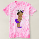 Ethnic Baby Princess and Pearls T-Shirt