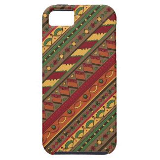 Ethnic background iPhone 5 case