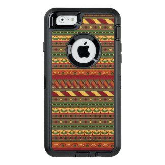 Ethnic background OtterBox defender iPhone case