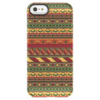 Ethnic background permafrost® iPhone SE/5/5s case