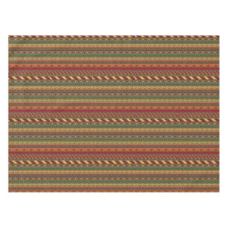 Ethnic background tablecloth